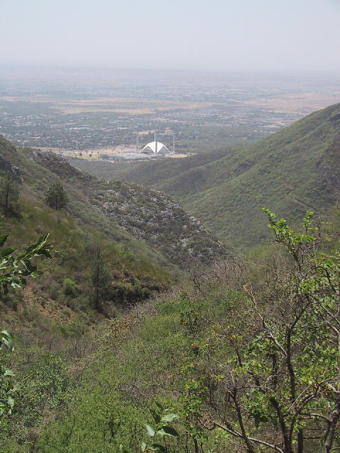 The Al Faisal mosque in Isalamabad